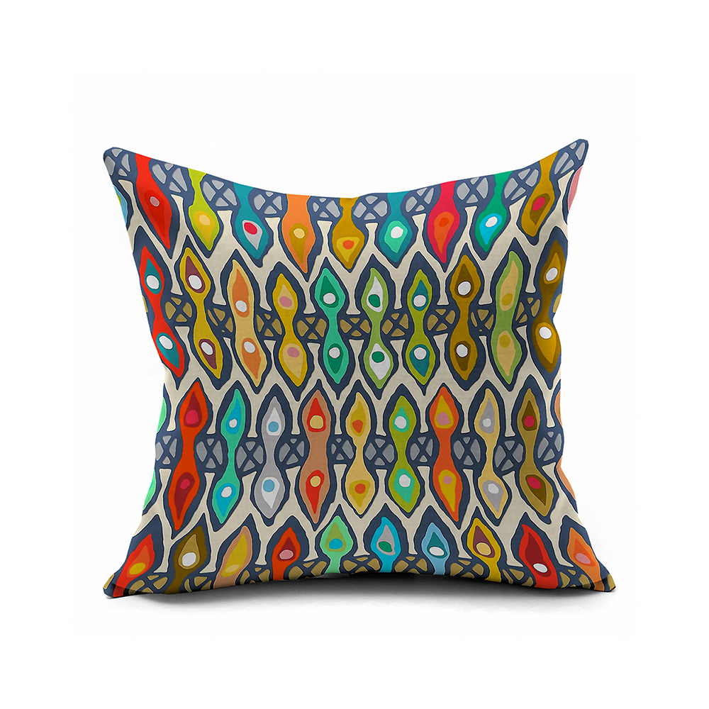 Vintage Tribe Decorative Throw Pillows Colorful Morocco Pillow Covers 18x18,Outdoor Cushions ...